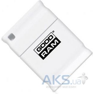 Флешка GooDRam PICCOLO 8 GB (UPI2-0080W0R11) White