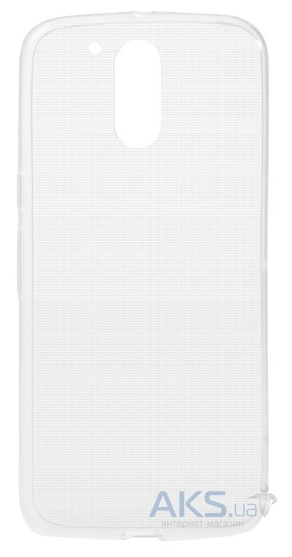 Чехол Remax TPU Ultra Thin Motorola Moto G4, Moto G4 Plus Transparent White