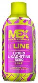 Жироспалювачі MEX Nutrition Liquid L-Carnitine 5000 503ml лимон