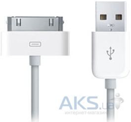 Кабель USB Apple USB 2.0 Dock Connector (MA591)