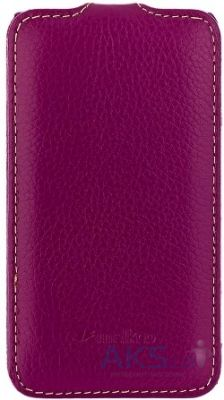 Чехол Melkco Jacka leather case for HTC One M7 Purple (O2O2M7LCJT1PELC)