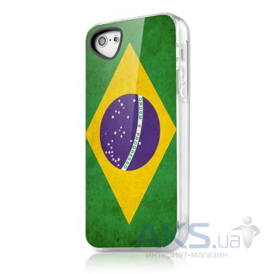 Чехол ITSkins Phantom cover case for iPhone 5/5S Brazil (APH5-PHANT-BRZL)