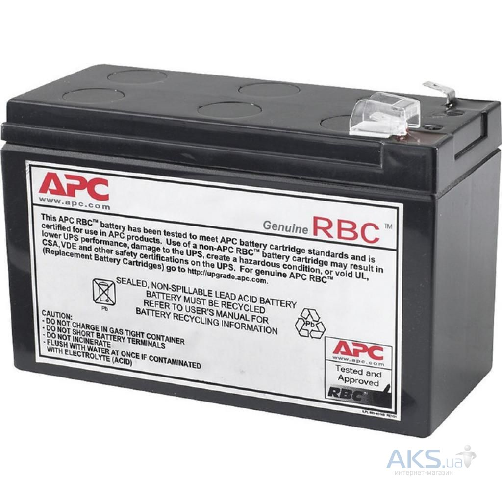 Аккумулятор для ИБП APC Replacement Battery Cartridge #110  (RBC110)