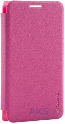 Чехол Nillkin Sparkle Leather Series Samsung A300 Galaxy A3 Red