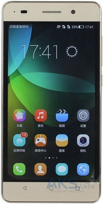 Сенсор (тачскрин) для Huawei Honor 4C Original Gold