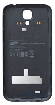 Задняя часть корпуса (крышка аккумулятора) Samsung i9500 Galaxy S4 / i9505 Galaxy S4 Wireless Charging Cover (EP-CI950IBEGWW) Original Black