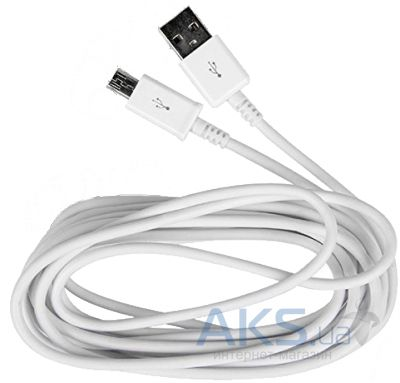Кабель USB Griffin microUSB cable 1м White