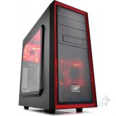 Корпус для ПК Deepcool TESSERACT SW RED