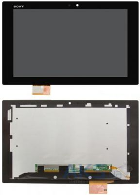 Дисплей для планшета Sony Xperia Tablet Z + Touchscreen with frame Original