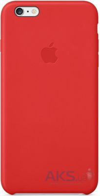 Apple High Copy Leather Case iPhone 6 Plus Red