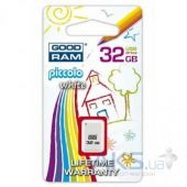 Вид 4 - Флешка GooDRam 32GB Piccolo White USB 2.0 (PD32GH2GRPIWR10)