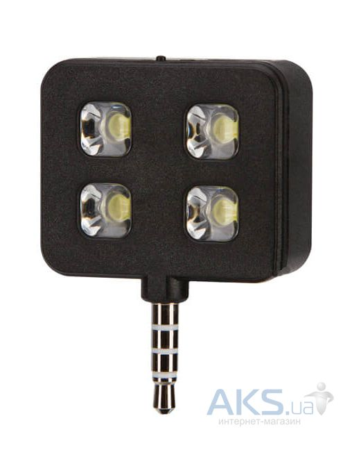 Гаджет JUST Selfie Flasher Black (SLF-FLR-BLK)
