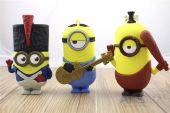 Вид 3 - Повербанк power bank NICHOSI Funny Minions 8800 mAh Миньон с гитарой