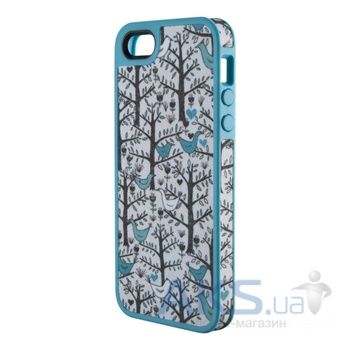 Чехол Speck FabShell Apple iPhone 5, iPhone 5S, iPhone 5SE LoveBirds Teal (SPK-A1595)