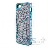 Вид 1 - Чехол Speck FabShell Apple iPhone 5, iPhone 5S, iPhone 5SE LoveBirds Teal (SPK-A1595)