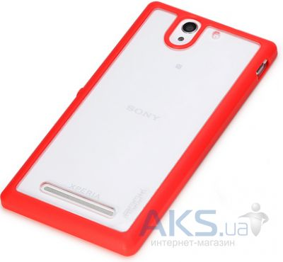 Чехол Rock Enchanting Series Sony Xperia C3 D2502 Red
