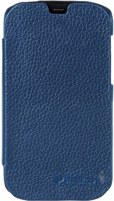 Чехол Melkco Book Leather Case Jacka Face Cover for HTC Desire SV T326e Blue (O2DSSVLCFB2DBLC)