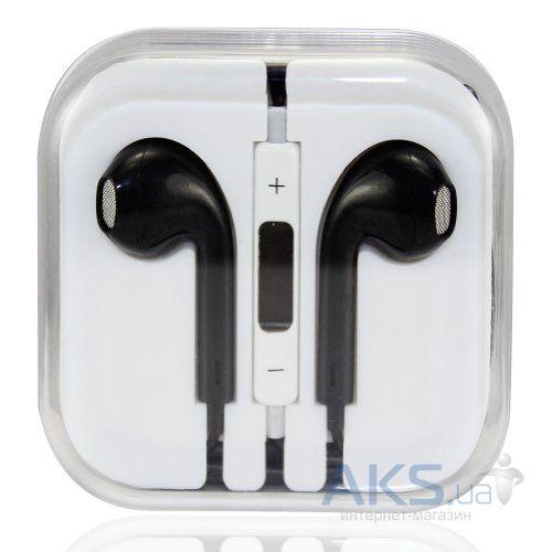 Купить гарнитуру для телефона Apple EarPods HC Black за 175 грн ... ded882781ecf4