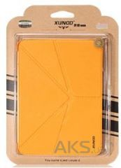 Чехол для планшета Xundd V Leather case for Samsung P5200/P5210 Galaxy Tab 3 10.1 Yellow