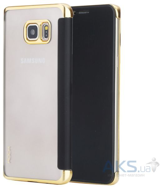 Чехол Rock DR.V Series Samsung N920 Galaxy Note 5 Gold