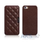 Чехол iCarer Classic Check Apple iPhone 5, iPhone 5S, iPhone SE Brown