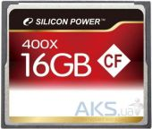 Карта памяти Silicon Power Compact Flash 400x 16Gb