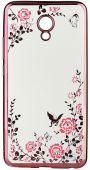 Чехол BeCover Flowers Series Meizu M5 Note Pink (701306)