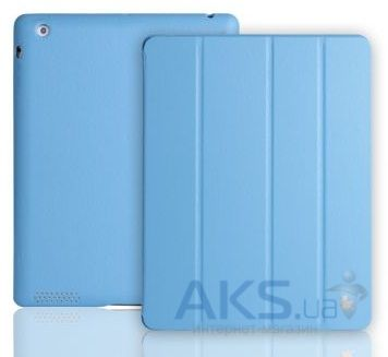 Чехол для планшета JisonCase Executive Smart Cover for iPad 4/3/2 Blue (JS-IPD-06H40)