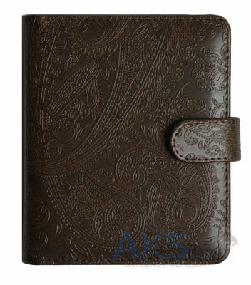 Обложка (чехол) Korka Antique Vintage dark (NOS-Antique-pu-vntd) для NOOK Simple Touch