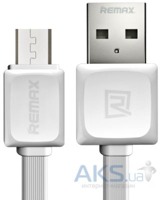 Кабель USB REMAX Fast Data Cable MicroUSB White