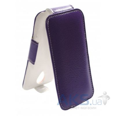 Чехол Sirius flip case for Fly IQ4415 Quad Era Style 3 Purple