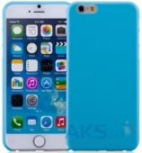 Чехол Momax Membrane case 0.3 for iPhone 6 Blue (CSAPIP6B)