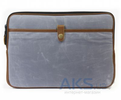 "Чехол PKG Red Crown Collection Sleeve Canvas/Leather for MacBook Air/Pro 13"" Grey (PKG RCCSS13-GRY1)"