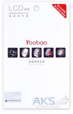 Защитная пленка для планшета Yoobao Screen Protector-Hi-Transparent for Ipad 2/Ipad 3/Ipad 4