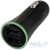 Вид 2 - Зарядное устройство LDNio Double USB Car Charger DL-C28 + micro USB Cable Black