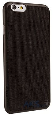 Чехол Ozaki O!coat-0.3+Canvas for iPhone 6/6S Black (OC557BK)
