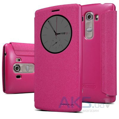Чехол Nillkin Sparkle Leather Series LG G4s H734 Pink