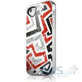 Чехол ITSkins Phantom cover case for iPhone 5/5S Graphic Inkaa (APH5-PHANT-GPIK)