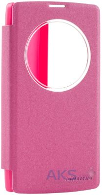 Чехол Nillkin Sparkle Leather Series LG Optimus Y90 Magna H502 Red