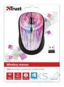 Вид 4 - Компьютерная мышка Trust Yvi Wireless Mouse dream catcher Pink