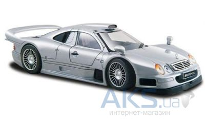 Автомодель Maisto Mercedes CLK-GTR street version (31949) Серебристый