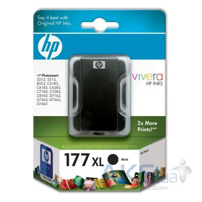 Картридж HP DJ No. 177 XL (C8719HE) Black