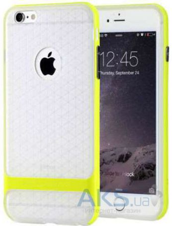 Чехол Rock Royce Transparent Series Apple iPhone 6, iPhone 6S Green
