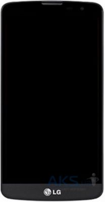 Дисплей (экраны) для телефона LG L Bello D335 Dual + Touchscreen with frame Original Black