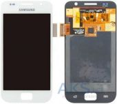 Дисплей (экран) для телефона Samsung Galaxy S I9000, Galaxy S Plus I9001 + Touchscreen White