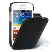 Вид 1 - Чехол Melkco Jacka leather case for Samsung S6802 Galaxy Ace DuoS Black (SS6802LCJT1BKLC)