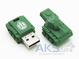 Флешка Kingston Rubber Tank 64GB WoT bonus (DT-TANK/64GB)