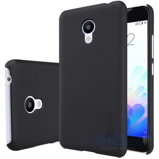 Чехол Nillkin Super Frosted Shield Meizu M3, M3 Mini, M3s Black