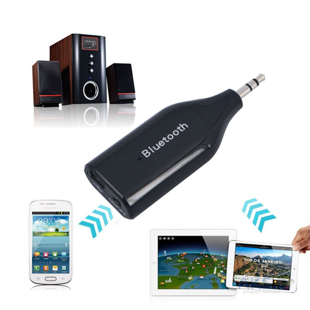 Bluetooth адаптер Q Sound Stereo Bluetooth Receiver (BM-E6)