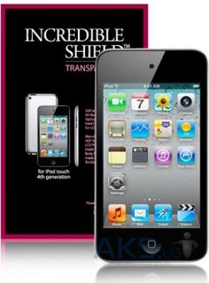 Защитная пленка SGP Screen Body Protector Set Incredible Shield Series Transparent 4.0 for iPod touch 4G
